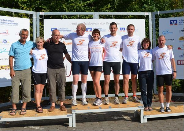 Siegerfoto Churfrankenlauf 2011