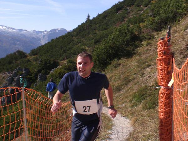 Zieleinlauf beim Jenner-Berglauf 2008