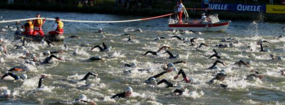 Schwimmstart Challenge Roth